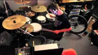 KJ SAWKA 6min SMASHUP rehearsal Drumming Video