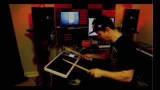 KJ Sawka - Octapad Dj Demonstration Video clip 2
