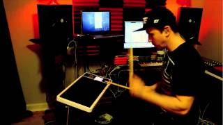 KJ Sawka - Octapad Dj Demonstration Video clip 3