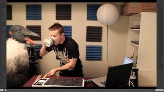 KJ Sawka - Octapad Dj Performance #1 Featuring The Party Penguin!!
