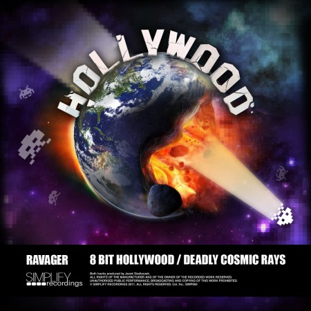 Ravager 8 Bit Hollywood Deadly Cosmic Rays